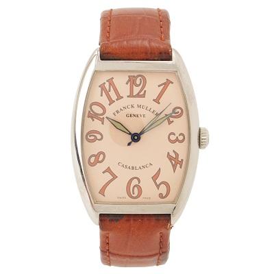 フランクミュラー 腕時計 カサブランカ サハラ 2852 ベルト劣化