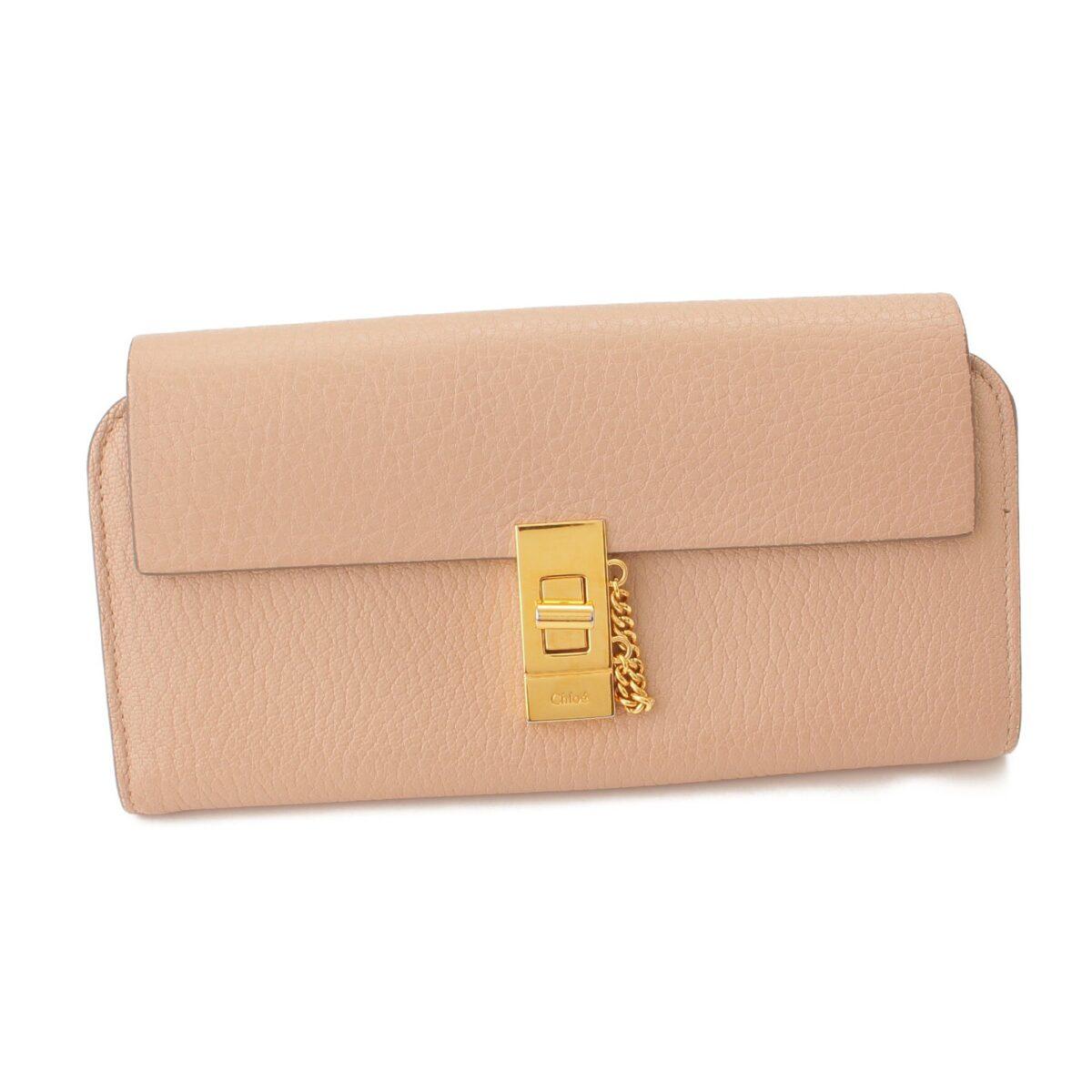 クロエ ドリュー 折財布 ※内側に変色あり