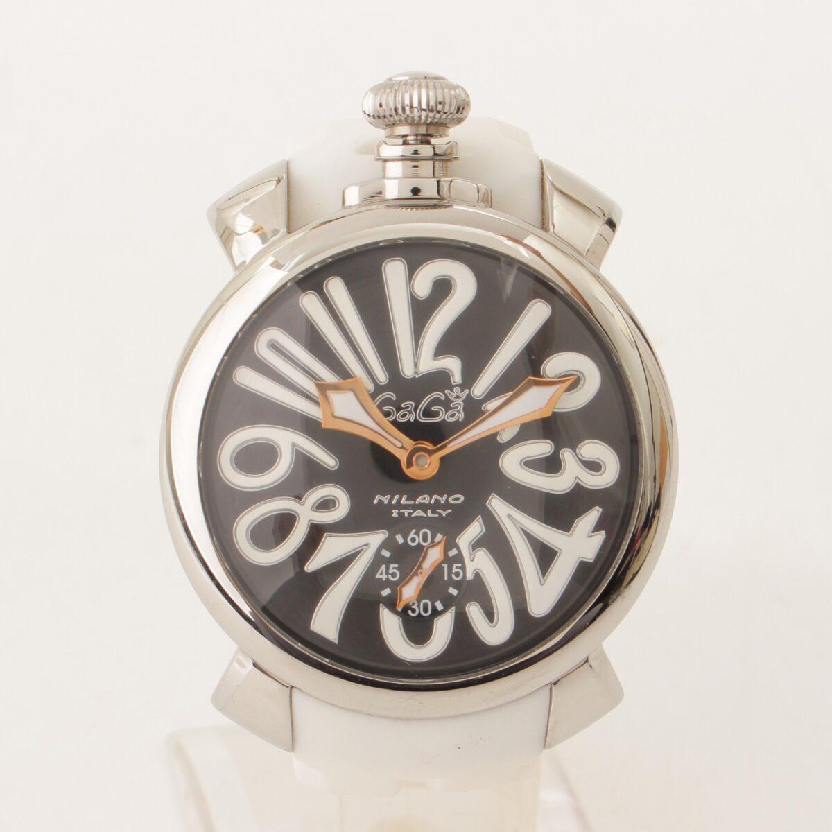 ガガミラノマヌアーレ 48mm 腕時計