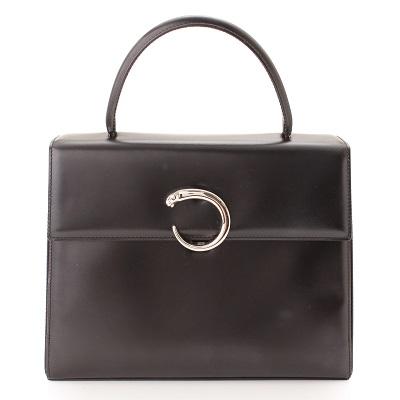 カルティエ パンテール ケリー型 ハンドバッグ